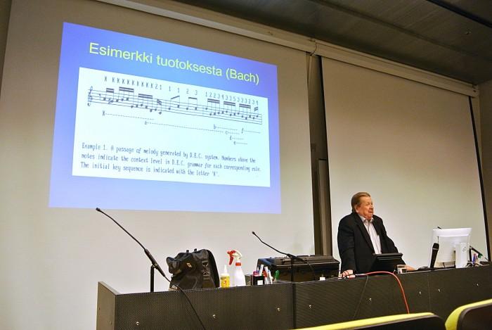 Teuvo Kohosen esitelmä 3.11.2015